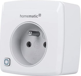 eQ-3 Homematic IP switch-measuring-socket type E, remote control mains socket with current measuring sensor, FR/PL (150006A0)