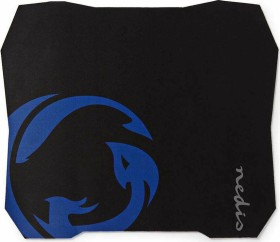 Nedis Gaming mousepad Large, black/blue (GMPD100BK)