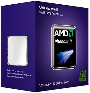 AMD Phenom II X4 810, 4x 2.60GHz, boxed (HDX810WFGIBOX)