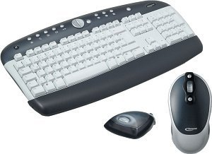 Typhoon Wireless Office Desktop XP, PS/2 & USB, DE (40620-DE)