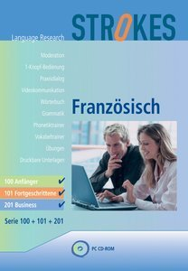 Strokes Language Research: Französisch 201 - Business (deutsch) (PC)