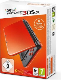 Nintendo New 3DS XL orange/schwarz