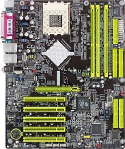 DFI LANparty NFII Ultra, nForce2 400 Ultra [dual PC-3200 DDR]