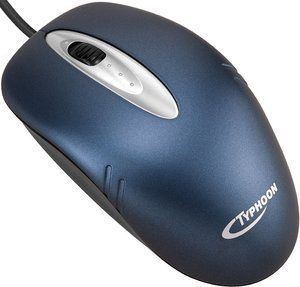 Typhoon Stream II Optical Mouse, PS/2 & USB (40813)