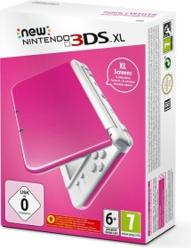Nintendo New 3DS XL pink/white