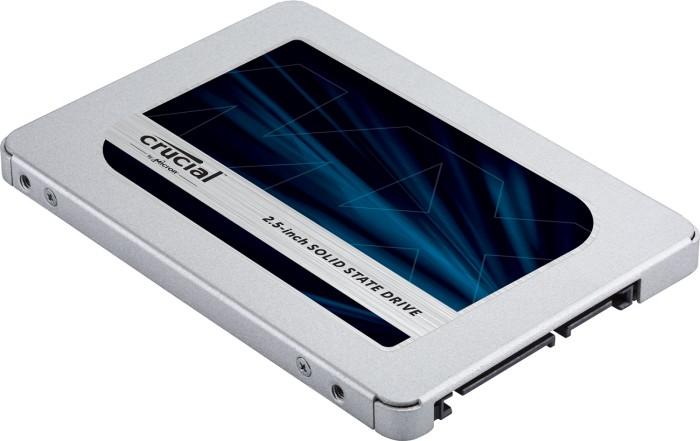 Crucial MX500 500GB, SATA, bulk (CT500MX500SSD1Z/CT500MX500SSD1T)
