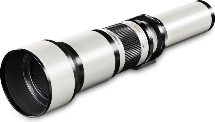 Walimex Pro 650-1300mm 8.0-16.0 for Nikon F white (15118)