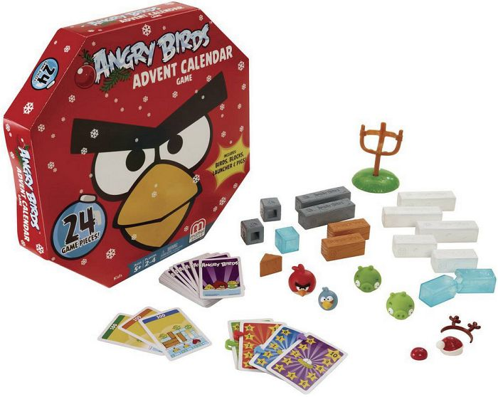 mattel angry birds adventskalender 2013 bck27 heise. Black Bedroom Furniture Sets. Home Design Ideas
