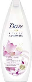 Dove care Geheimnisse shining with Reiswasser- and Lotusblütenduft shower care, 250ml