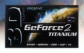 Creative 3D Blaster GeForce2 Titanium, 64MB DDR, AGP, Retail