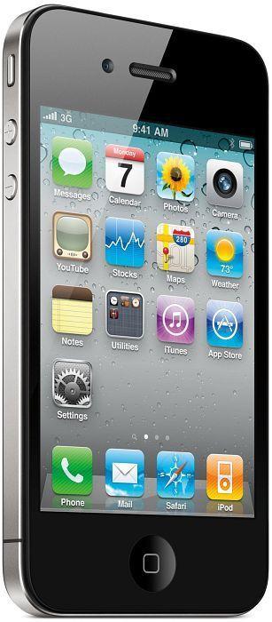 Apple iPhone 4 16GB black with branding