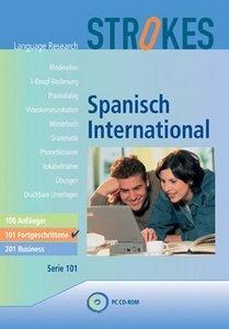 Strokes Language Research: Spanisch International 101 - Fortgeschrittene (deutsch) (PC)
