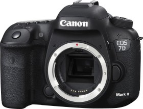 Canon EOS 7D Mark II schwarz Gehäuse mit W-E1 Wi-Fi Adapter (9128B178)