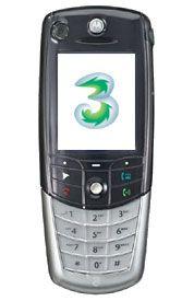 3 Motorola A835 mit 3VideoPlus 500 Tarif