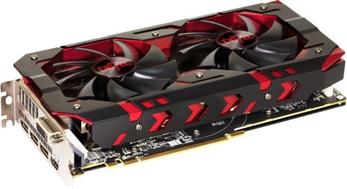 PowerColor Radeon RX 580 Red Devil, 8GB GDDR5, DVI, HDMI, 3x DP (AXRX 580 8GBD5-3DH/OC)
