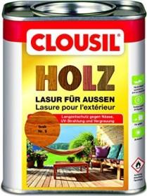 CLOU CLOUsil Holzlasur für außen Holzschutzmittel teak, 750ml