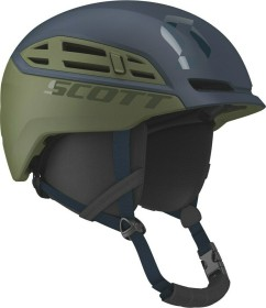 Scott Couloir Freeride Helm blue nights/green moss (271750-6301)