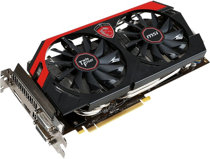 MSI N780 TF 6GD5/OC Twin Frozr Gaming, GeForce GTX 780, 6GB GDDR5, 2x DVI, HDMI, DisplayPort (V298-035R)