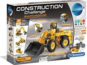 Clementoni Galileo Construction Challenge - Baufahrzeuge (59030)