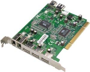 Dawicontrol DC-DuoMedia, 4x USB 2.0/3x FireWire, PCI
