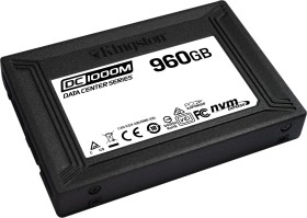 Kingston DC1000M Data Center Series Mixed-Use SSD - 1DWPD 960GB, U.2 (SEDC1000M/960G)