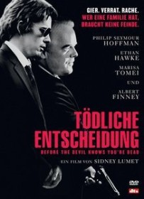Tödliche Entscheidung - Before the Devil knows you're dead (DVD)