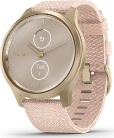 Garmin vivomove Style Aktivitäts-Tracker blush pink woven/light gold (010-02240-02)