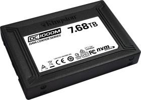 Kingston DC1000M Data Center Series Mixed-Use SSD - 1DWPD 7.68TB, U.2 (SEDC1000M/7680G)