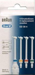 Braun Oral-B Ersatzdüsen, 4er-Pack (ED30-4)