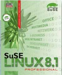 SuSE: Linux 8.1 Professional (angielski) (PC) (2014-25INT)