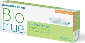 Bausch&Lomb Biotrue ONEday for Astigmatism, -1.00 Dioptrien, 30er-Pack