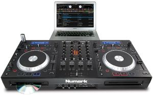 Numark MIXDECK QUAD CD turntable (incl. Mixer)