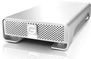 G-Technology G-Drive 3TB, USB 2.0/eSATA/FireWire 800