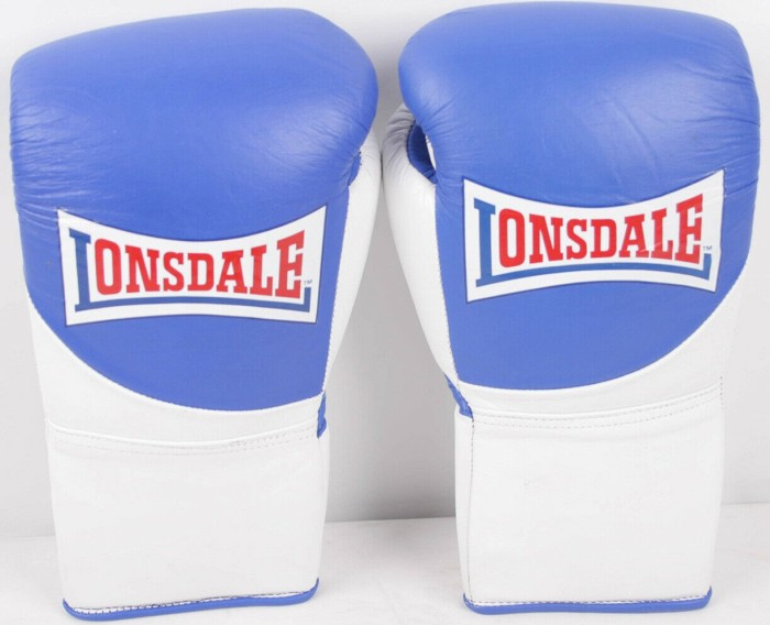 Lonsdale Professional Contest boxing gloves 10oz red/white -- via Amazon Partnerprogramm