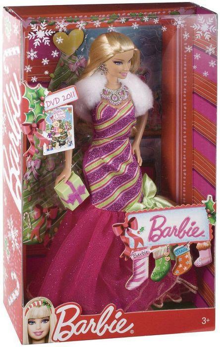 Barbie Zauberhafte Weihnachten 2019.Mattel Barbie Zauberhafte Weihnachten Barbie V6985