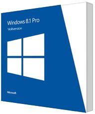 Microsoft Windows 8.1 Pro 32/64Bit, DSP/SB (französisch) (PC) (FQC-07336)