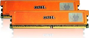 GeIL Ultra DIMM Kit 1GB, DDR2-800, CL4-4-4-12 (GX21GB6400UDC)