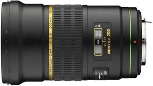 Pentax lens smc DA 200mm 2.8 ED IF SDM (21700)