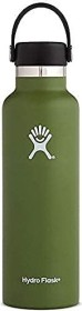 Hydro Flask 21 oz Standard Mouth Flex Cap Insulated Trinkflasche olive