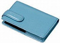 Casio ESC-3BE leather case light blue