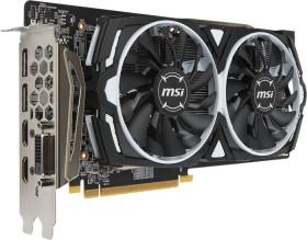 MSI Radeon RX 580 Armor 8G OC, 8GB GDDR5, DVI, 2x HDMI, 2x DP (V341-064R)