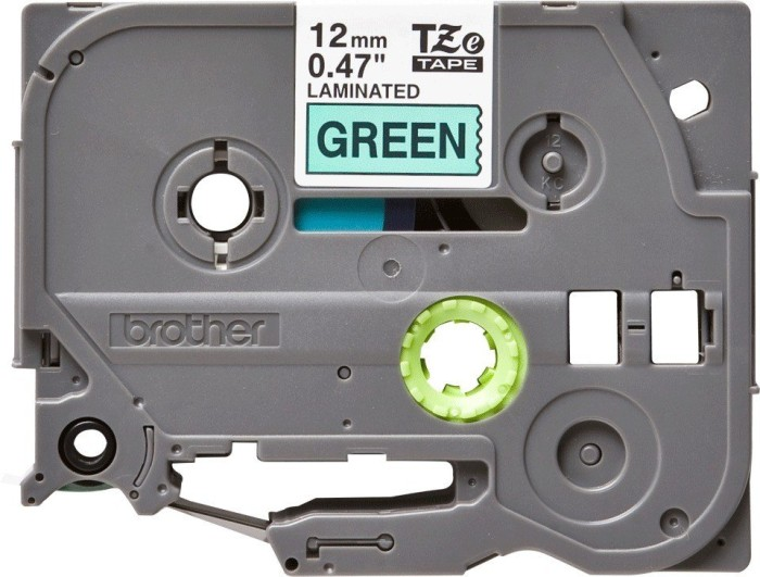 Brother TZ-731/TZe-731 12mm black/green -- via Amazon Partnerprogramm