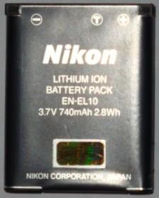 Nikon EN-EL10 Li-Ionen-Akku (VFB10101)