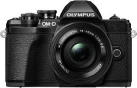 Olympus OM-D E-M10 Mark III schwarz mit Objektiv Fremdhersteller