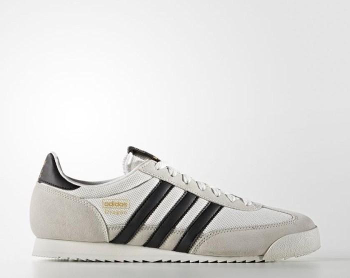 adidas Dragon vintage white/core black/off white (mens) (S81909)