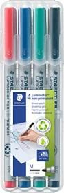 Staedtler Lumocolor 315 non-permanent sortiert, 4er-Set (315 WP4)