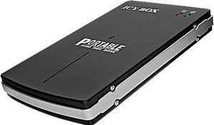 "RaidSonic Icy Box IB-250StUE-B black, 2.5"", USB-A 2.0/FireWire (20264)"