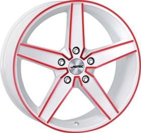 Autec Typ D Delano 8.0x18 5/112 weiß/rot (verschiedene Modelle)