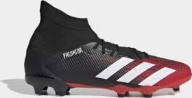 adidas Predator 20.3 FG core black/cloud white/active red (Herren) (EE9555)