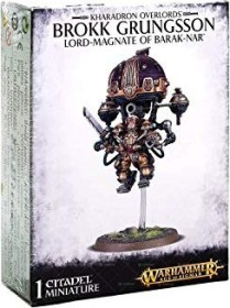 Games Workshop Warhammer Age of Sigmar - Kharadron Overlords - Brokk Grungsson, Lord-Magnate of Barak-Nar (99120205023)